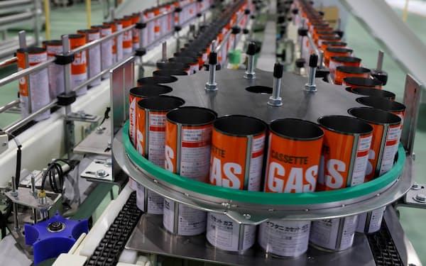 岩谷産業はカセットボンベの製缶工場を新設した