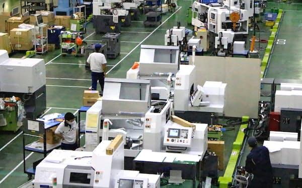 シチズンマシナリーの本社工場(長野県御代田町)