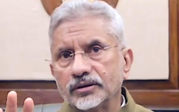 インドのジャイシャンカル外相