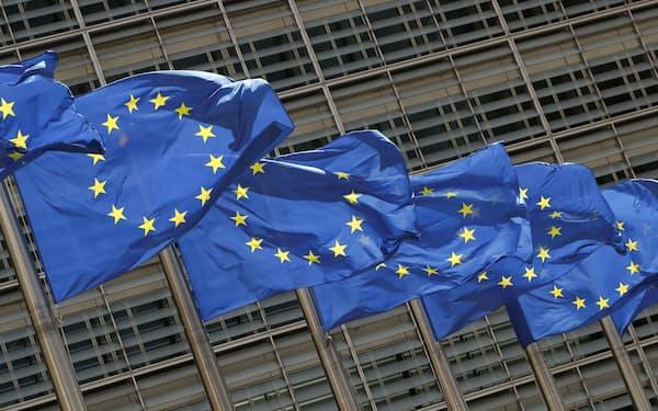 ブリュッセルの欧州委員会本部=ロイター