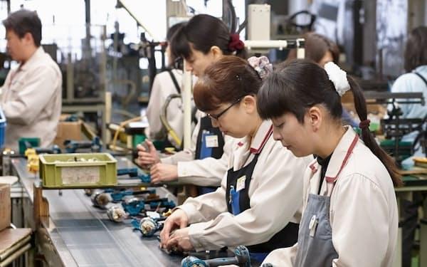 電動工具の生産と開発を強化する(マキタの国内工場)