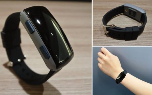 腕時計型デバイスで深部体温を推定(出所:ミツフジ)