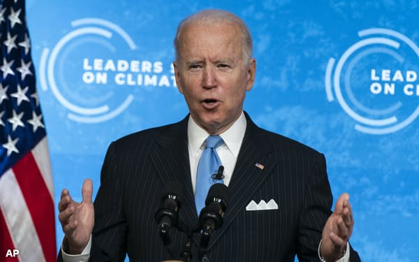 バイデン政権の誕生で環境問題に対する米国政府の姿勢は大きく変わった=AP