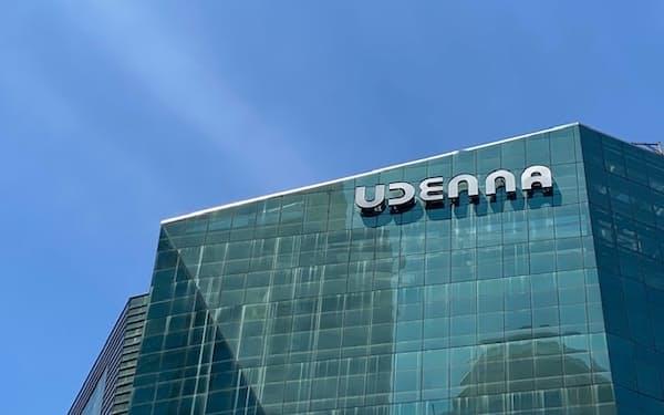 ウデンナはエネルギーや通信などで存在感を高めている(21日、マニラ)