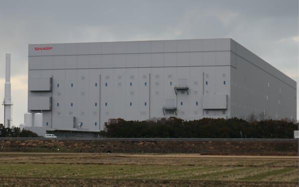 SHARPに売却されたJDIの元白山工場