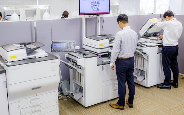 企業が持つビッグデータをAIが解析。複合機に頼らない新たなビジネスモデルを育てる