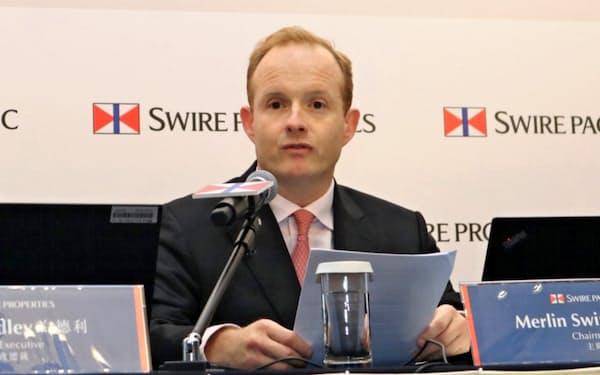 マーリン・スワイヤ氏は3年でスワイヤパシフィック会長を退く(2019年3月)
