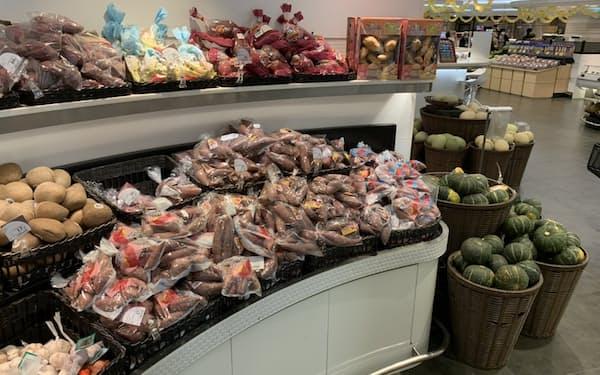 九州農水産物直販が輸出した農産物は香港のデイリー・ファームのスーパーで販売されている
