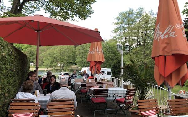 ベルリンとその近郊でもレストランなどの屋外営業が可能に(撮影はMarlies Matthes)