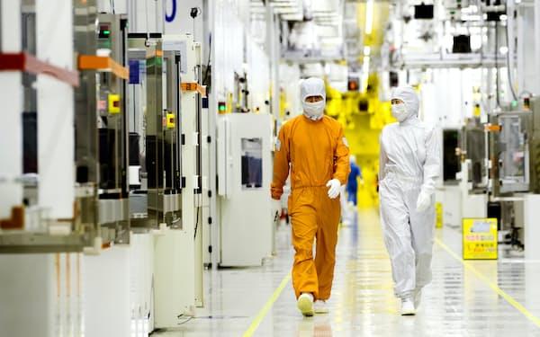 サムスンは米国で半導体の新工場建設を検討中