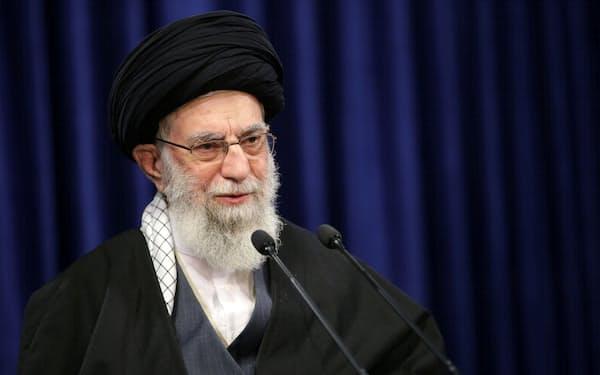 イラン最高指導者ハメネイ師=ロイター