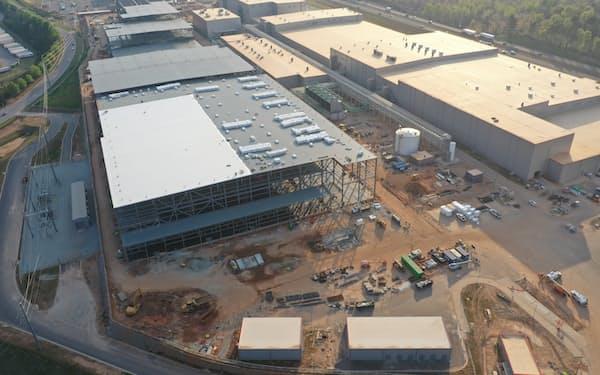 SKイノベーションは米国で矢継ぎ早に電池工場の建設を表明している(ジョージア州の同社工場)