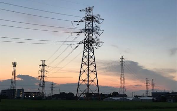 東電管内は冬の電力不足が懸念される