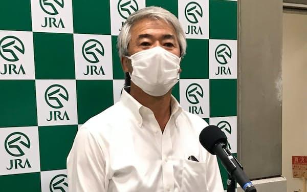 2020年6月、安田記念優勝時の藤沢調教師