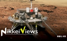 火星の生命探しに号砲 勝つのは米中、それとも日本か