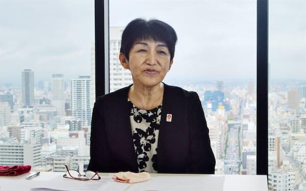 同友会の代表幹事に就任した生駒京子氏
