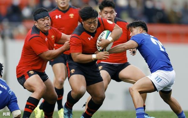帝京大ラグビー部は指導方法を一変させ強豪となった(2020年12月、全国大学選手権)=共同