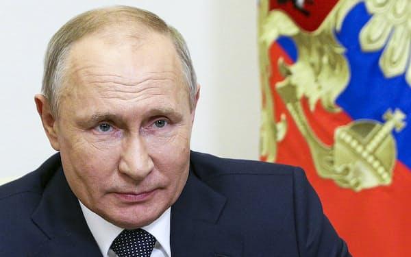 ルカシェンコ政権と同様、ロシアのプーチン大統領も反体制派への抑圧を強めている=AP