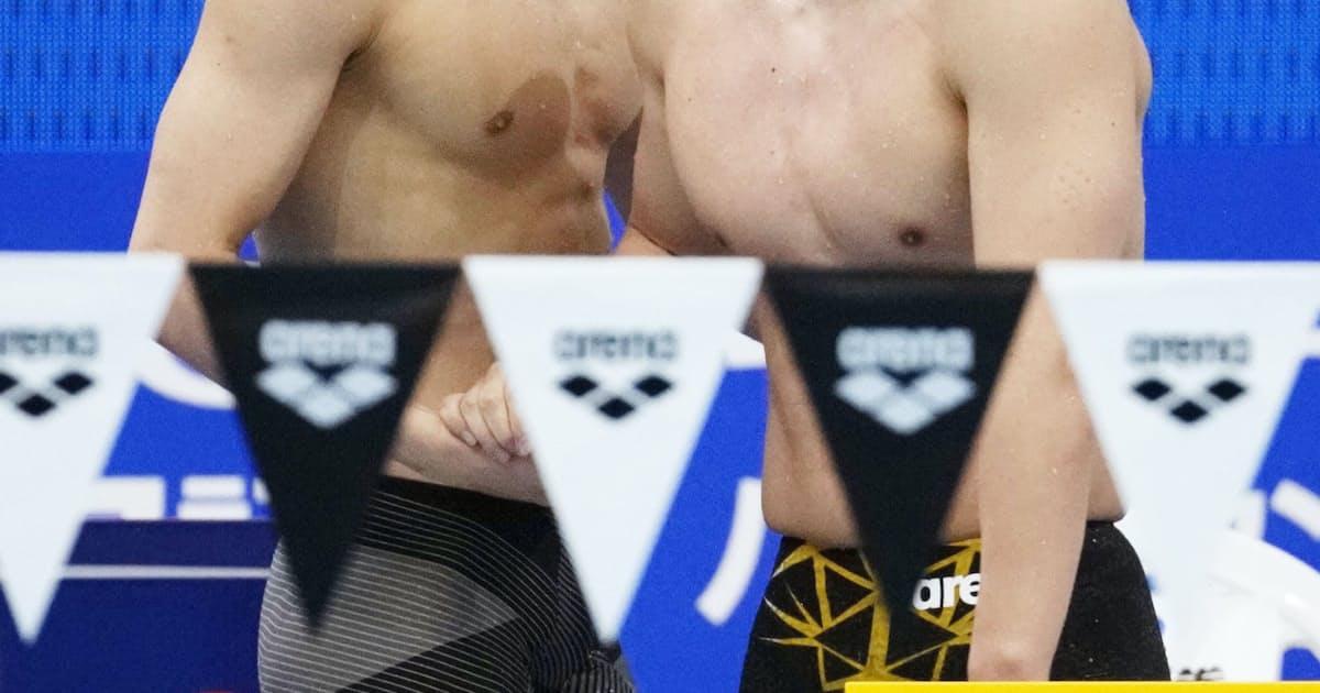 水泳専念、移籍…道は自分で選ぶ 競泳・井狩裕貴 (写真=共同)