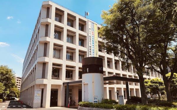 埼玉県高齢者ワクチン接種センターが開設される埼玉県浦和合同庁舎(さいたま市)