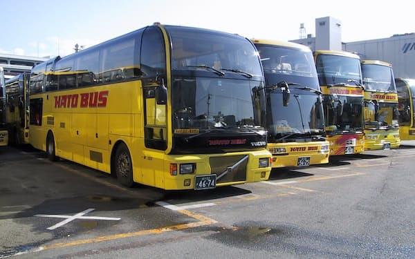 はとバス(東京・大田)は現在、全ツアーを運休している