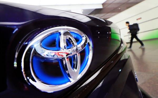 トヨタ自動車の株価は上昇基調