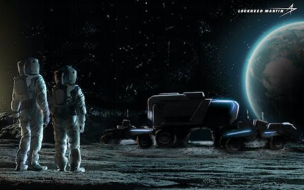 月面の長距離移動を可能にする次世代の探査船を開発する
