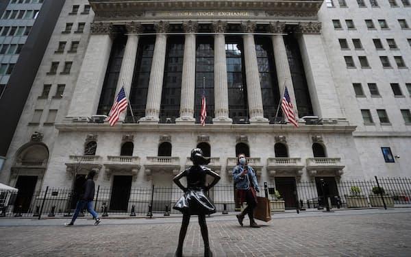 米株式市場では高値警戒感が強まっている(ニューヨーク証券取引所)=ロイター