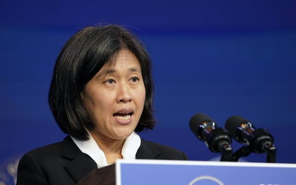 米通商代表部(USTR)のタイ代表が近く中国と電話協議をすると報じられた=AP