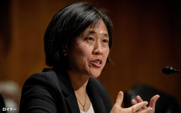 タイUSTR代表は中国の貿易問題に厳しく臨むと表明している=ロイター