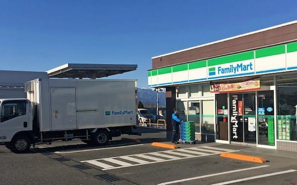 ファミリーマートは配送トラックで再生燃料を活用する