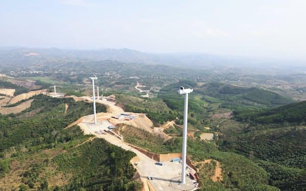 レノバは、ベトナムで陸上風力の建設を進める。