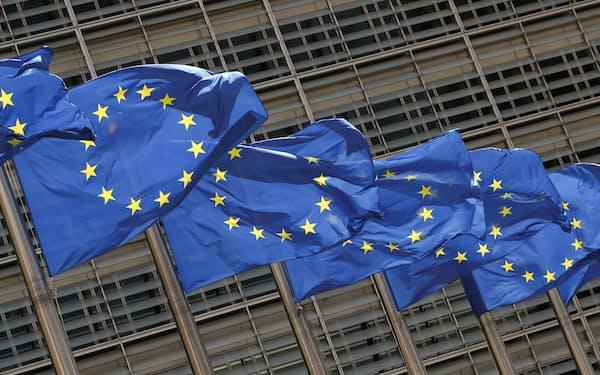 EUでは米IT企業のクラウドサービスが使われる=ロイター