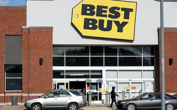 ベストバイは既存店売上高が4割近く伸びた=ロイター