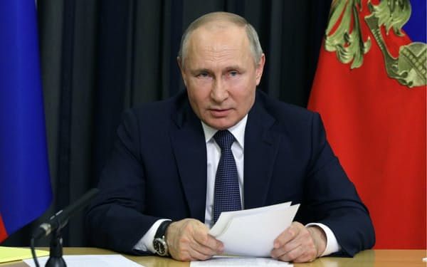 ロシアのプーチン大統領は5月11日にオープンスカイ条約からの離脱法案を提出していた=ロイター