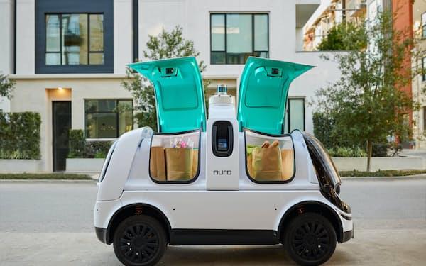 Nuro(ニューロ)が開発した配送用の自動運転車両