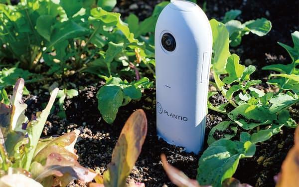 センサーで栽培している作物の状態を判断する(プランティオの商品)