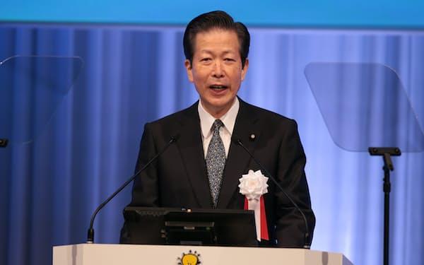 公明党の山口那津男代表