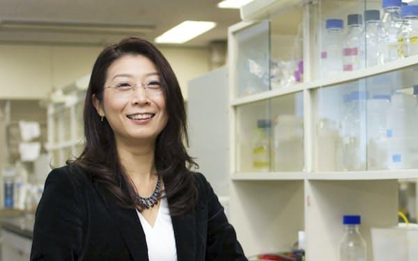 東工大の田中幹子教授(「女性科学者に明るい未来をの会」提供)=共同