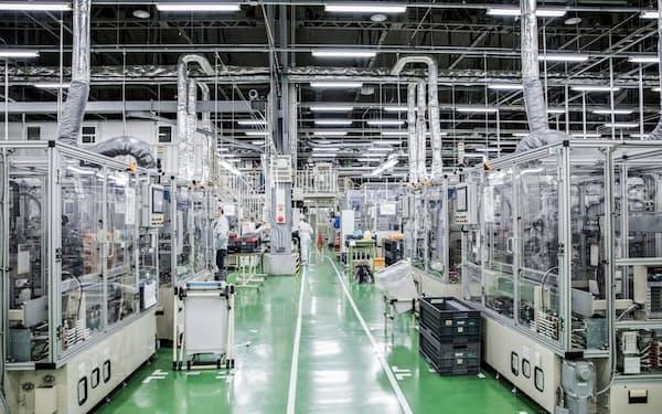 エンビジョンAESCジャパンの座間工場