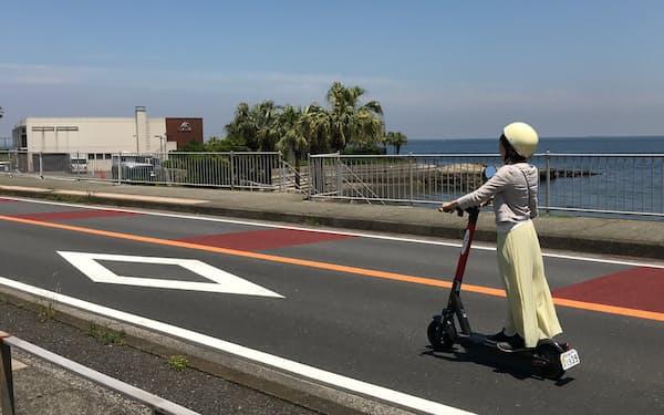 京急は観光客向けに観音崎京急ホテル(横須賀市)でシェアリングサービスを始めた