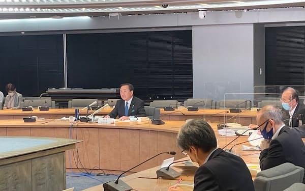 神奈川県が新型コロナウイルス対策について協議した(28日、県庁)
