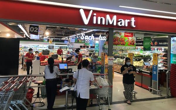 マサンはビングループからスーパー「ビンマート」などを譲り受けていた(ハノイ市)