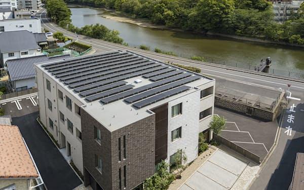 積水ハウスのZEH仕様の賃貸マンション