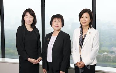 (左から)古布薫氏、阪口和子氏、小林悦子氏