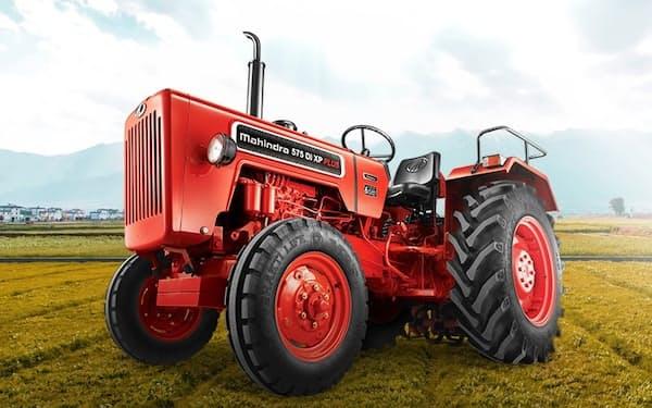 マヒンドラの農機販売は堅調でトラクターの販売台数は増えた