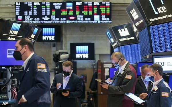 インフレ加速でも株価上昇基調は崩れず=AP