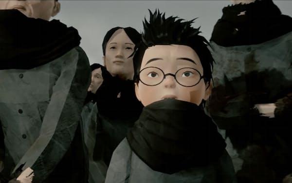 北朝鮮の実態を伝える映画「トゥルーノース」(C)2020 sumimasen