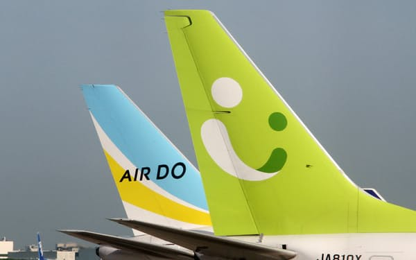 AIRDOとソラシドエアのブランドは維持し、経営の独立は維持する