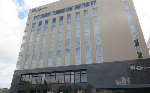 ホテルメトロポリタン秋田の別館「ノースウイング」